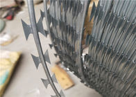 Anti Climb Mesh BTO-22 Single Razor Concertina Barbed Wire